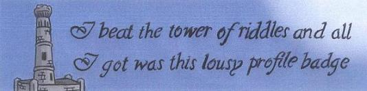Tower of Riddles